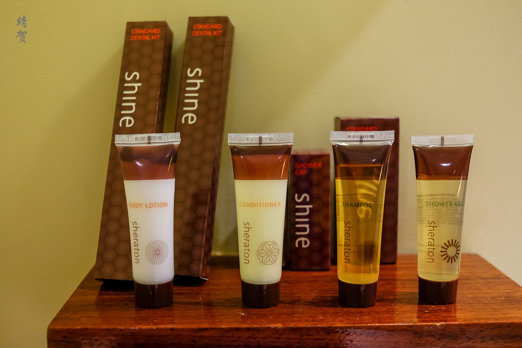Sheraton bath amenities