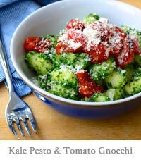 Kale Pesto & Tomato Gnocchi