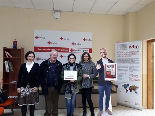 Cruz Roja homenaje a sus voluntarios con 15 años de dedicación