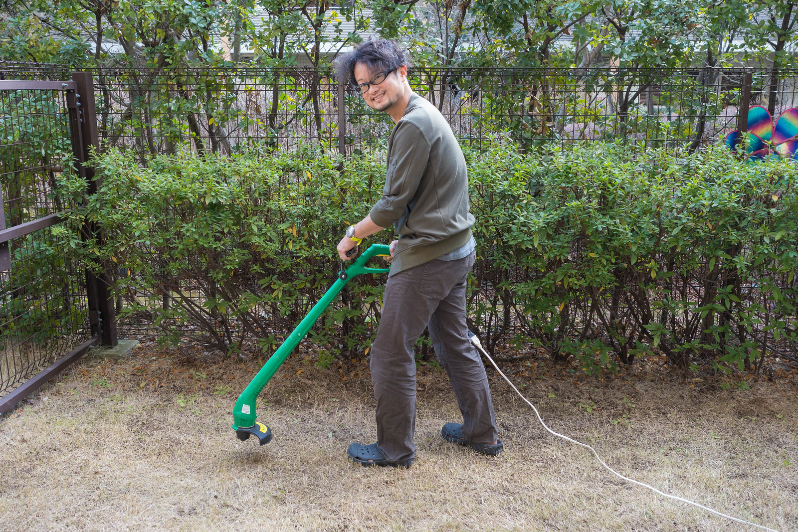 家庭用電動草刈機-23