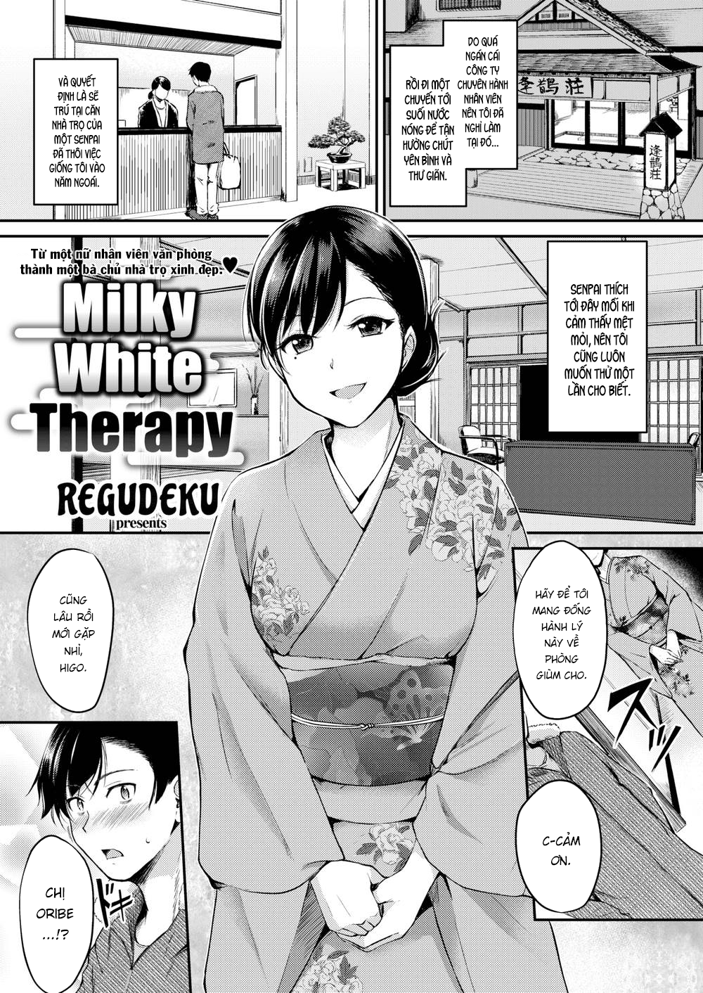 HentaiVN.net - Ảnh 1 - Milky White Therapy - Oneshot