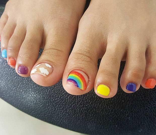 20 Toe Nail Designs For Summer 2018 Nails Designs