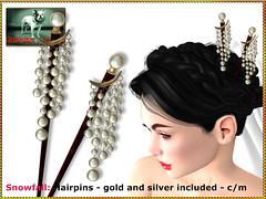 Bliensen - Snowfall - hairpins