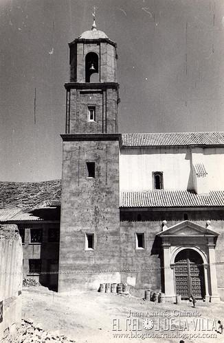 RECONSTRUCCIÓN DE LA IGLESIA AÑOS 60 - FOTO GUIRADO