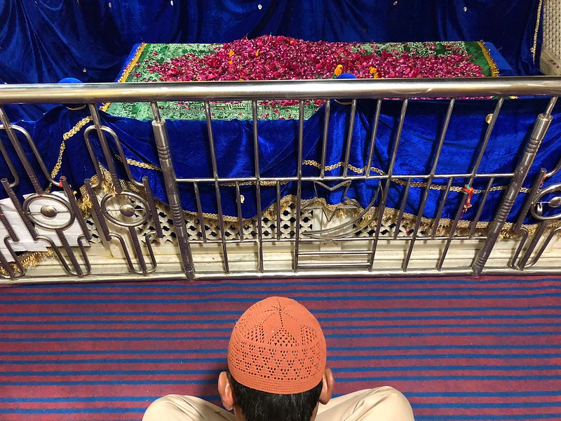 The Solitude of Sufism... at the Dargah of Delhi's Hazrat Chirag Dehli