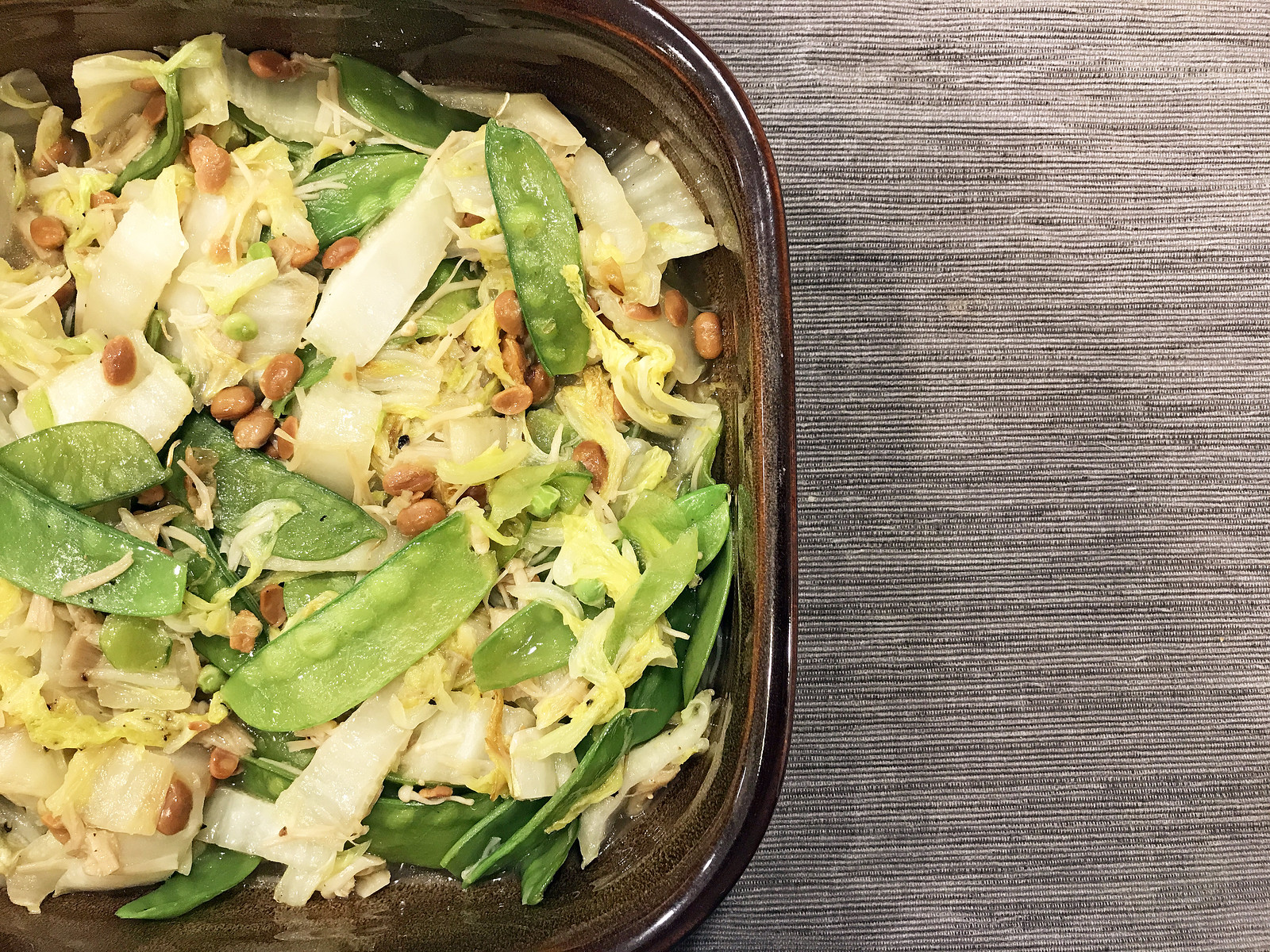 Thai-Style Mixed Vegetable Stir-Fry