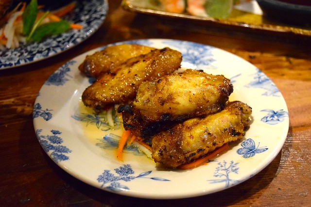 Lemongrass Chicken Wings at Vietfood, Chinatown #vietnamese #chinatown #london