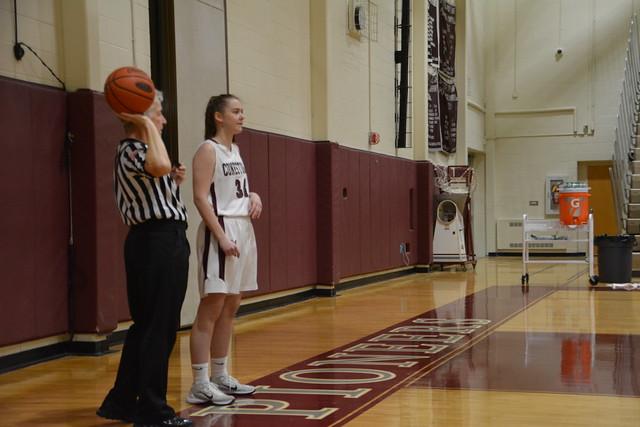 girls basketball vs. Strath Haven