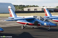 E163 6 F-TERB - E163 - Patrouille de France - French Air Force - Dassault-Dornier Alpha Jet E - RIAT 2010 Fairford - Steven Gray - IMG_7362