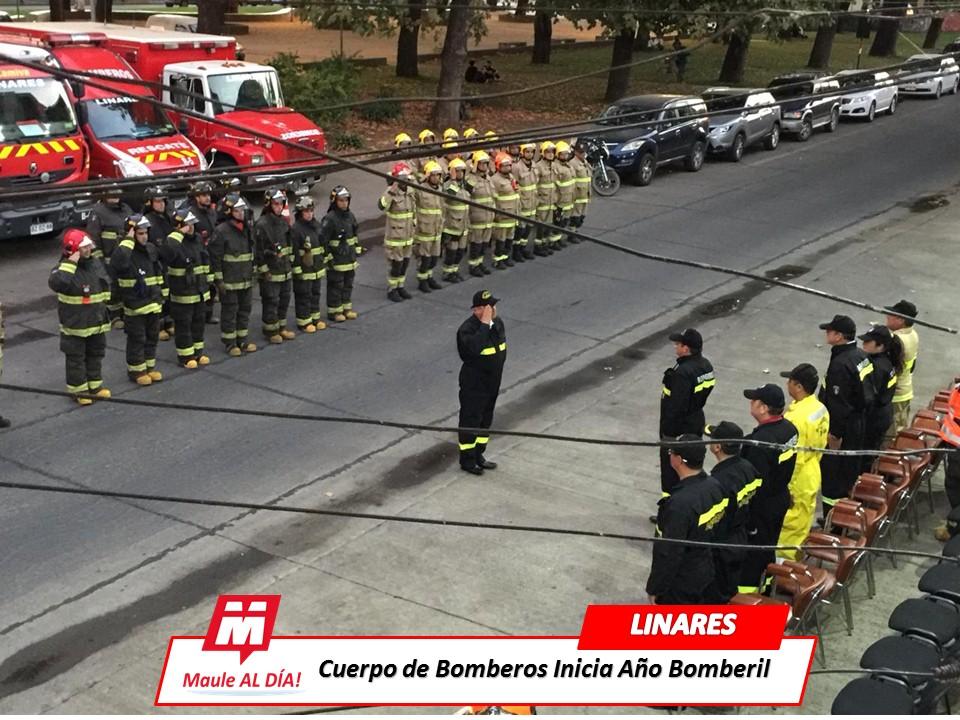 LINARES; Cuerpo de Bomberos da comienzo al año Bomberil