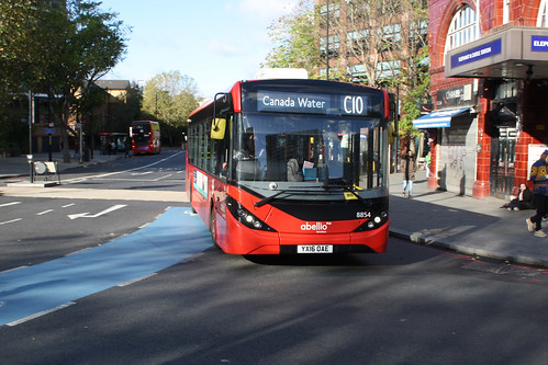 Abellio London 8854 YX16OAE