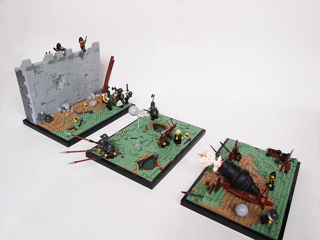 Triptych. God of War