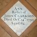 Ann Clarkson 1799