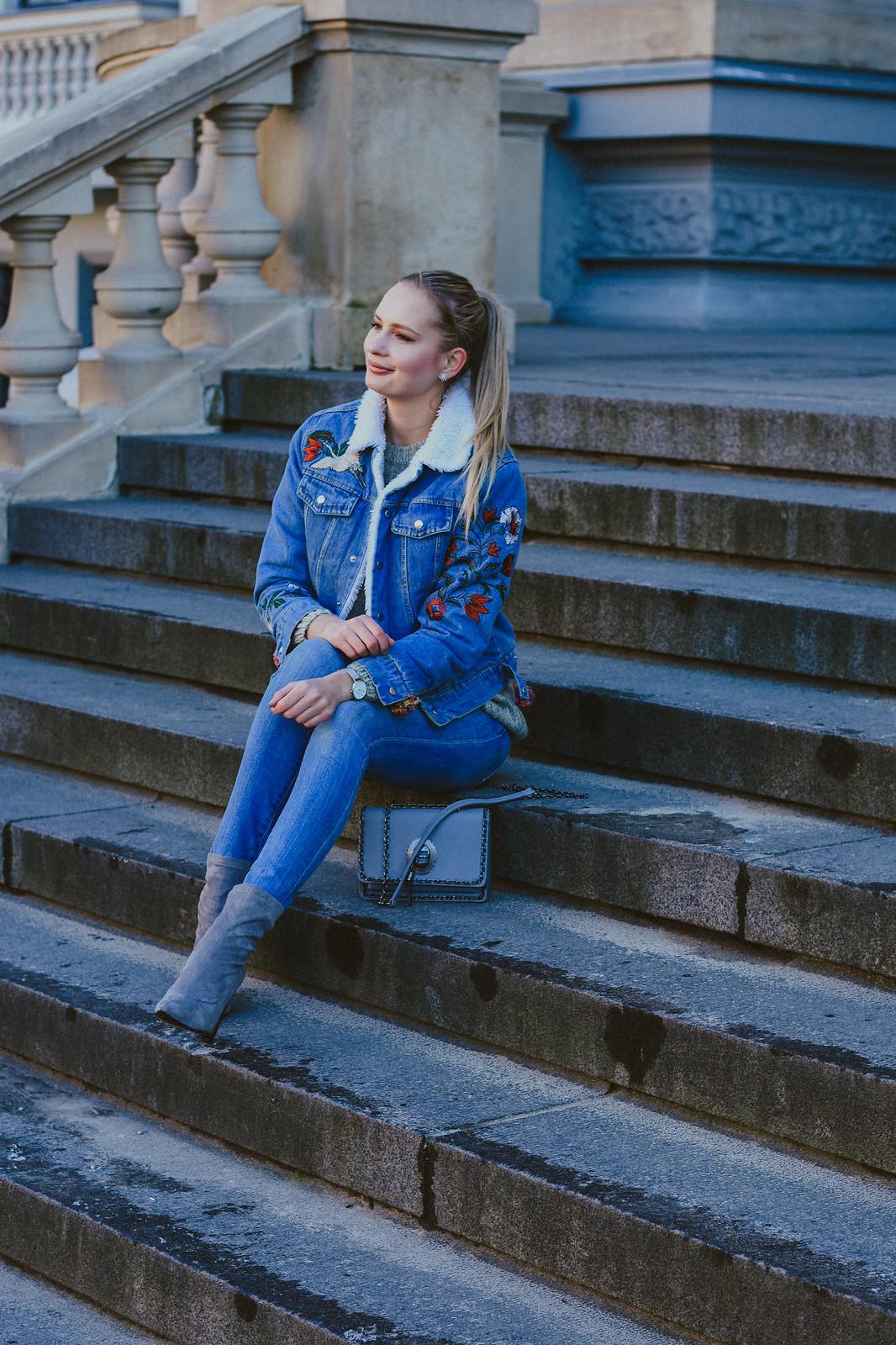 European fashion blogger