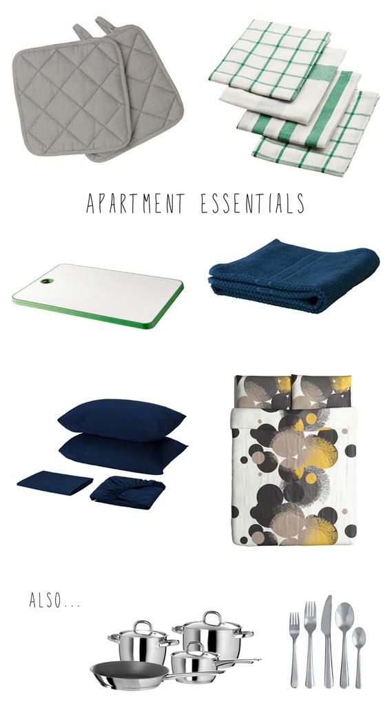New Apartment Essentials