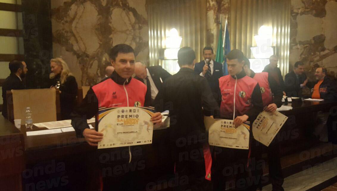 Salerno premia lo sport - Moscarella