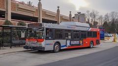 WMATA Metrobus 2005 New Flyer DE40LF #6029