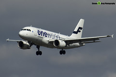 OH-LVD - 1352 - Finnair - Airbus A319-112 - Heathrow - 170402 - Steven Gray - IMG_3149