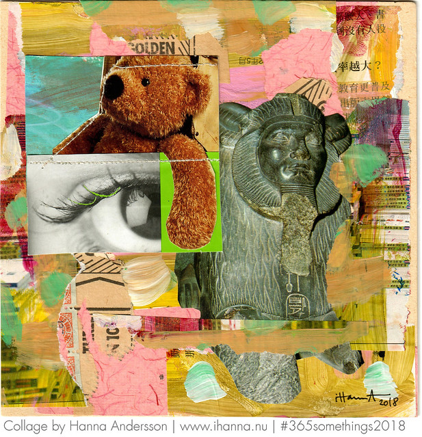 Timeless Style Collage 26 by Hanna Andersson aka iHanna #365somethings2018 #collage #art