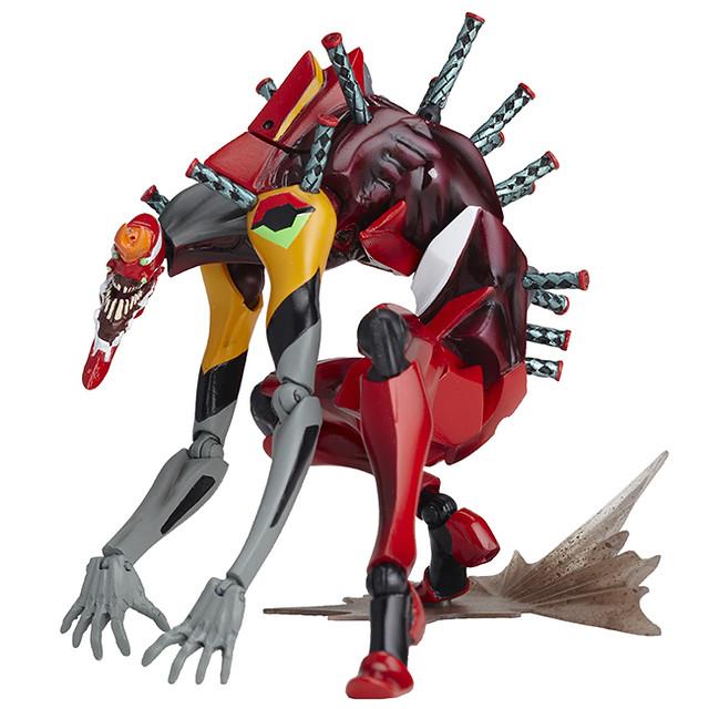 """海洋堂《福音戰士新劇場版》REVOLTECH EVANGELION EVOLUTION「EVA 2號機 獸化第2形態""""THE・BEAST""""」【再次販售】"""