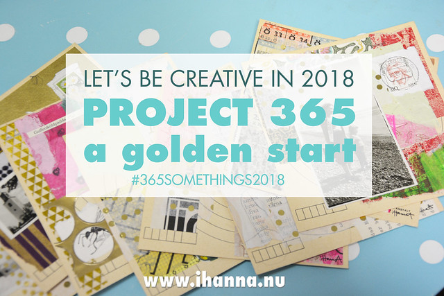 the Golden Start of 365 Collages | Week 1 2018 | a golden start to the year, a 365 somethings project by Hanna Andersson aka iHanna #365somethings2018