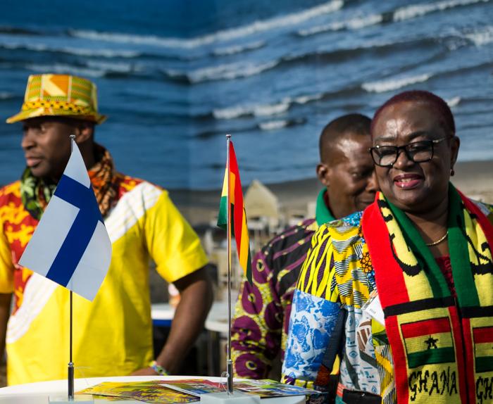 Matkamessut 2018 Finnish Travel Fair Ghana osasto Afrikka