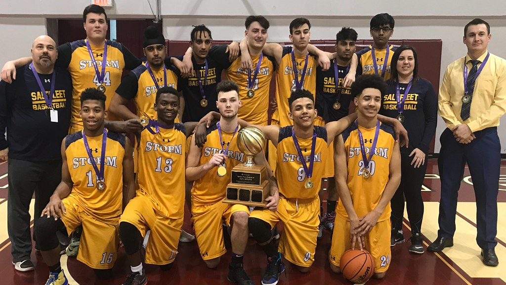 2017-18 Senior Boys Division-I Basketball Champions: Saltfleet Storm