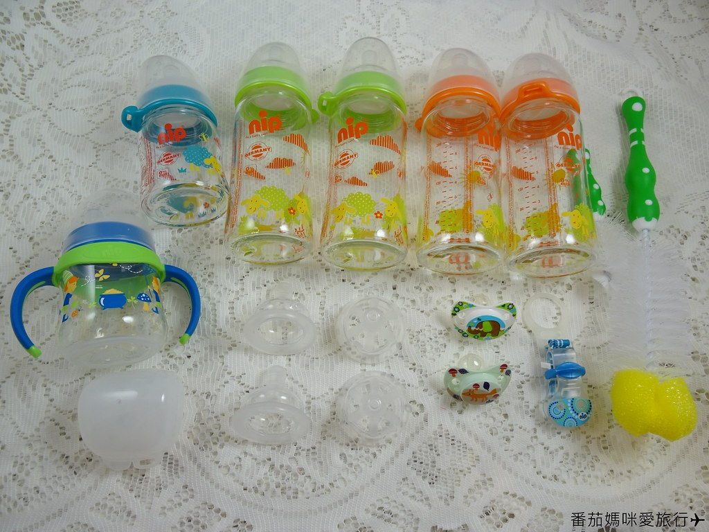 nip 德國防脹氣玻璃奶瓶 (4)