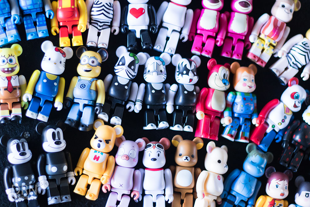 Bearbrick Collection.