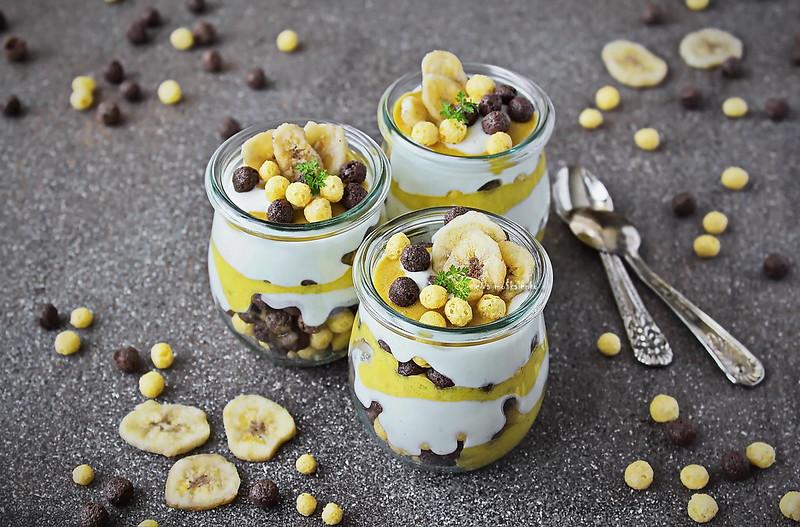 ...banana cream dessert