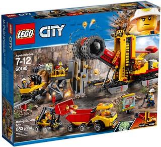 挖到金礦就可以買更多樂高了~! LEGO 60184、60185、60186、60188 城市系列 礦場盒組整理 2018年上半部分盒組 Part 3!!