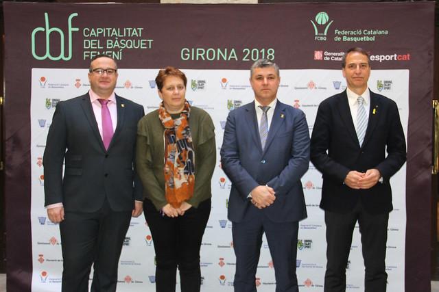 Girona, Capitalitat del Bàsquet Femení 2018
