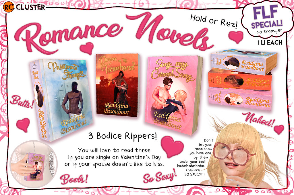 -RC- Romance Novels - FLF Special! - TeleportHub.com Live!
