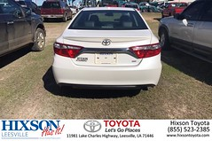 Happy Anniversary to  on your #Toyota #Camry from Devin Buterbaugh at Hixson Toyota of Leesville!