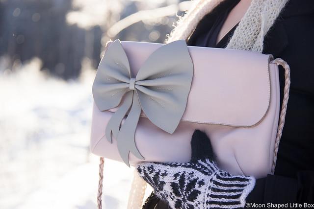 vaaleanpunainen nahkalaukku, kotimainen laukku, Cobblerinan laukut