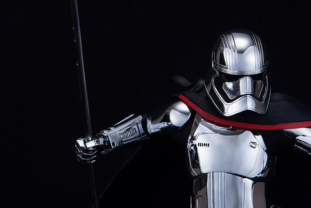ARTFX 《星際大戰:最後的絕地武士》閃閃發亮銀色盔甲的「法斯瑪隊長」! キャプテン・ファズマ