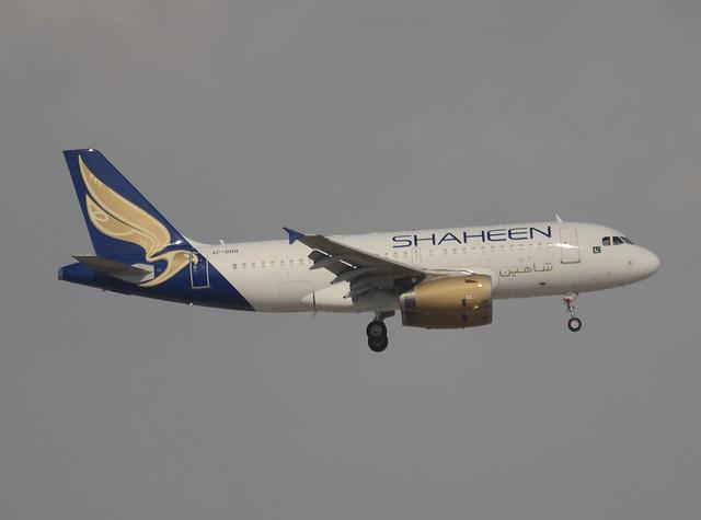 Shaheen Air Airbus A319-132 AP-BNN cn 2738