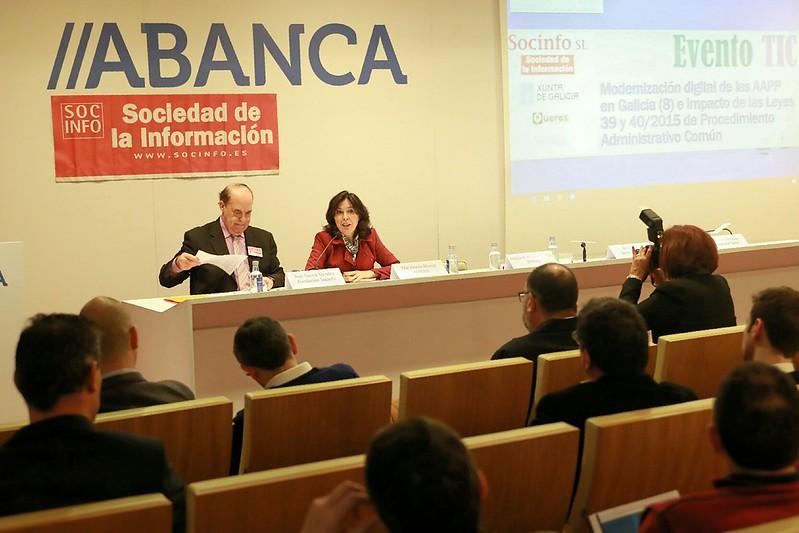 """Seminario """"Modernización Dixital das Administracións Públicas en Galicia"""""""