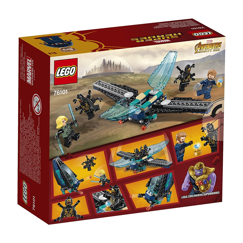 LEGO Marvel Super Heroes 76101 - Outrider Dropship Attack