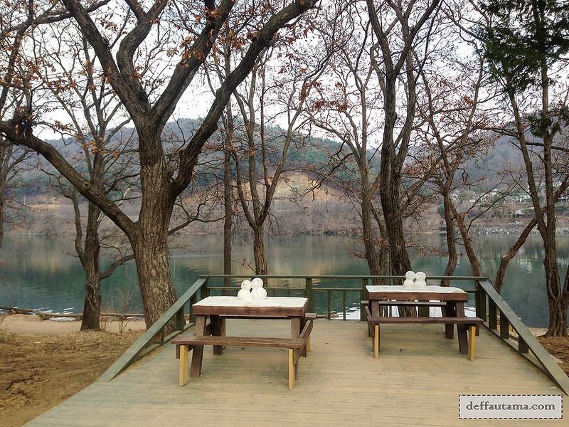 Nami Island - Winter Sonata First Kiss