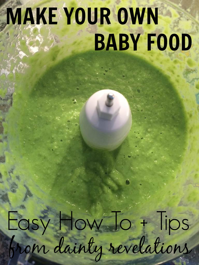 Learn how easy it is to make your own healthy baby food at home!