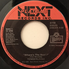 TENDERLOINZ:WHERE'S THE BEEF?(LABEL SIDE-A)