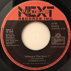TENDERLOINZ:WHERE'S THE BEEF?(LABEL SIDE-A)