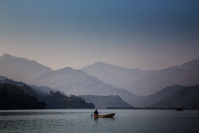 Lake Phewa, Pokhara