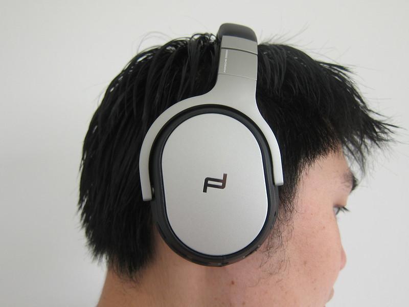 KEF - Space One Wireless Headphones - Wearing It