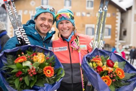 Dvě místa na stupních vítězů pro Bauer Ski Team na La Diagonele