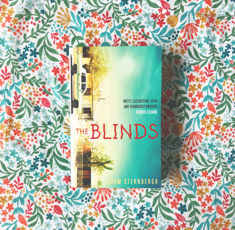 the blinds adam sternbergh book blog vivatramp book haul bloggers in the uk