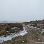 Entorno lagunar de La Guardia (Toledo) nevado. 4-2-2018