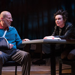 The Electric Baby at the Arvada Center - L-R: Greg Ungar (Reed) and Emelie O'Hara (Rozie) Matt Gale Photography 2018