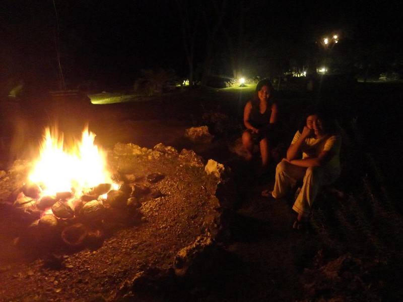 Terra Manna campfire